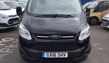 2016 Ford Transit Custom Regular Van Custom 290 SWB L1 LMTD 2.2TDCi 125PS 2015.5 full
